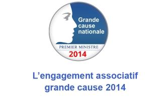 L'engagement associatif: Grande cause nationale 2014
