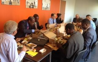 Accueil d'une délégation du Burkina Faso
