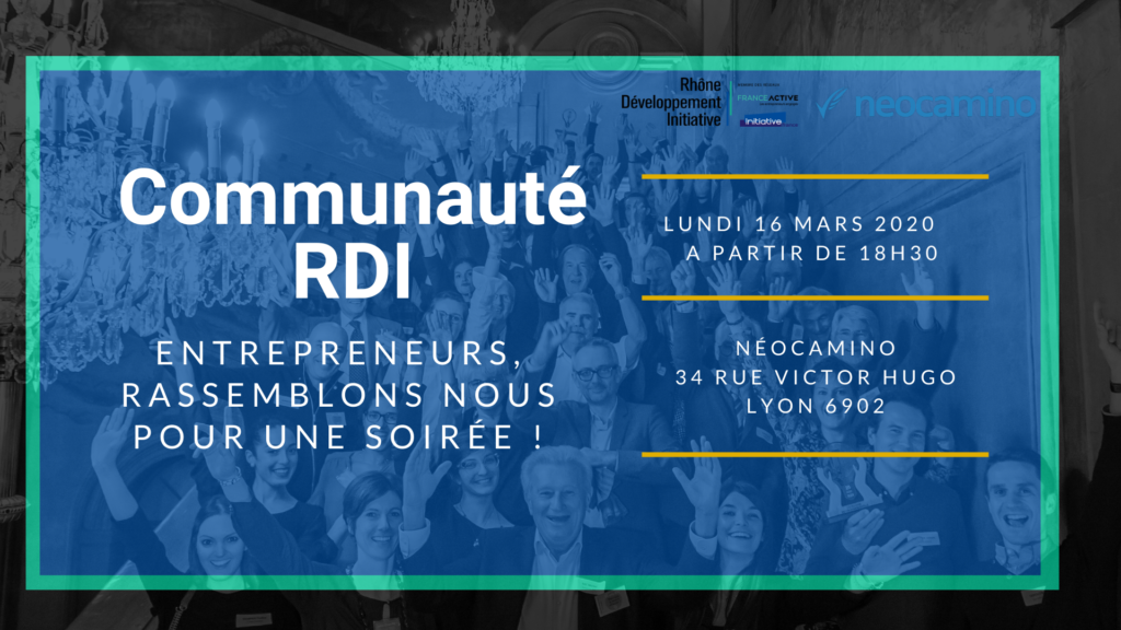 """Soirée """"Développez votre réseau avec la Communauté des Entrepreneurs RDI"""""""