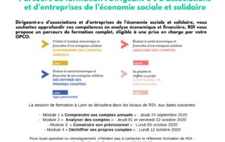 Parcours de formation: dirigeant.e.s d'associations et d'entreprises de l'économie sociale et solidaire