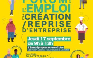 Forum pour l'emploi St Symphorien sur Coise